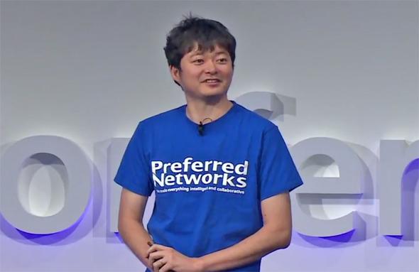 図1 西川 徹 Preferred Networks創業者 代表取締役社長 最高経営責任者