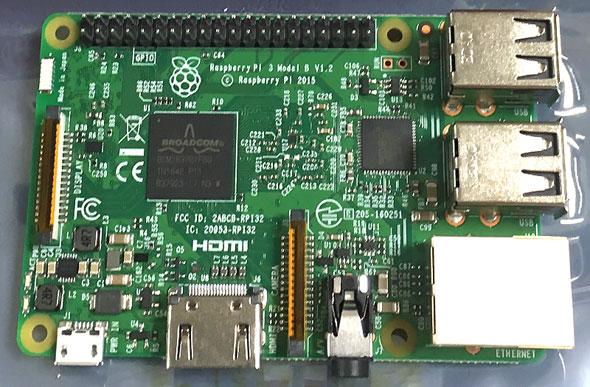 図1 Raspberry Pi 3 Model B